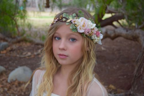 Flower Crown Perfect for Flower Girls