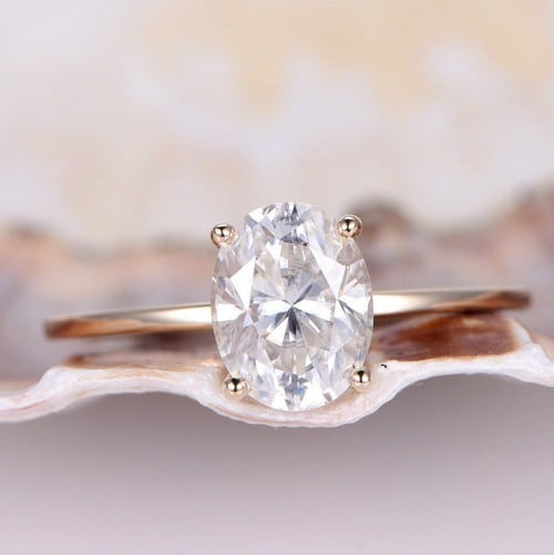 Forever Brilliant Moissanite Engagement Rings