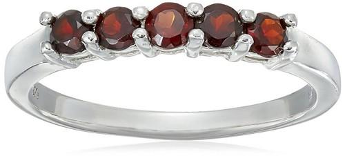 Garnet Birthstone Rings