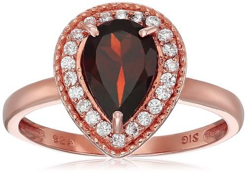 Garnet Engagement Rings