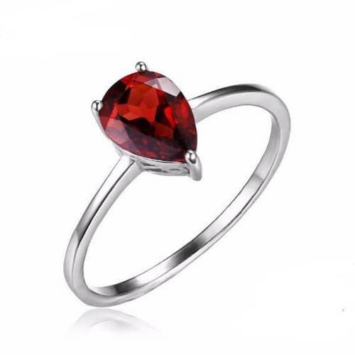 Garnet Rings