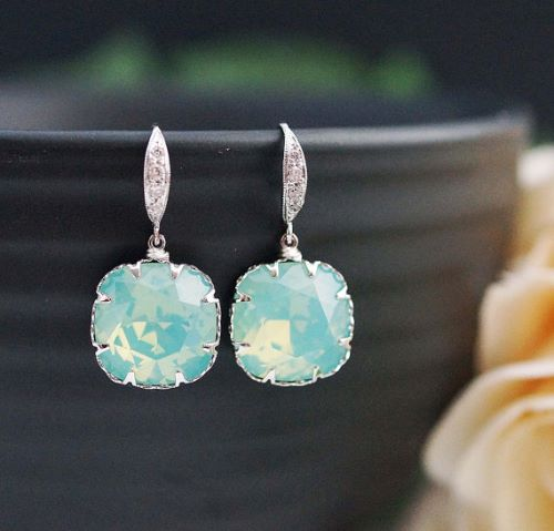 Genuine Opal Earrings