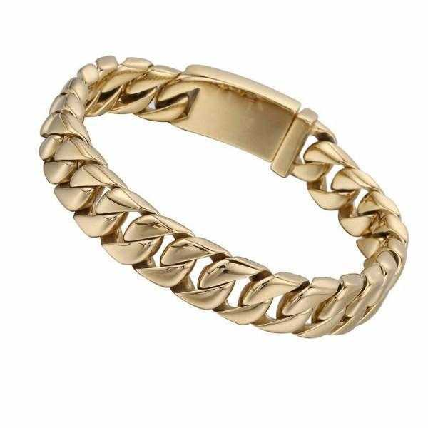 Gold Chain Womens Bracelet
