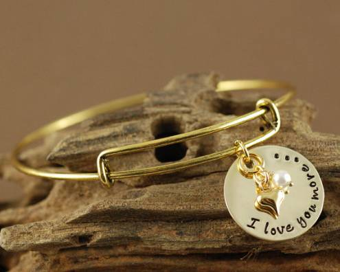 Swarovski Crystal Tiger Charm Bracelet