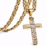 Gold Cross Necklaces
