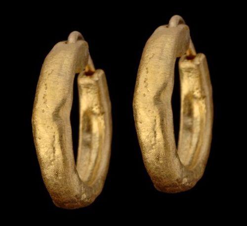 Gold Mens Earrings