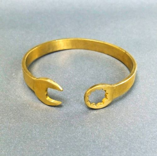 Gold Plated Bangle Bracelets For Men