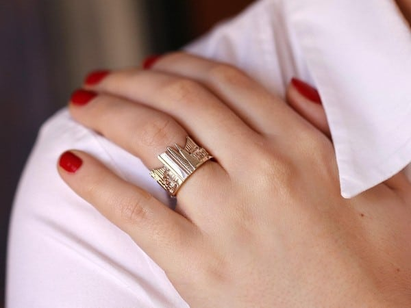 Gold Ring Jewelry For Wanderlusters