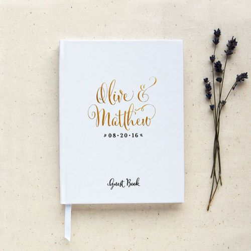Guest Book Wedding Decoration Perfection