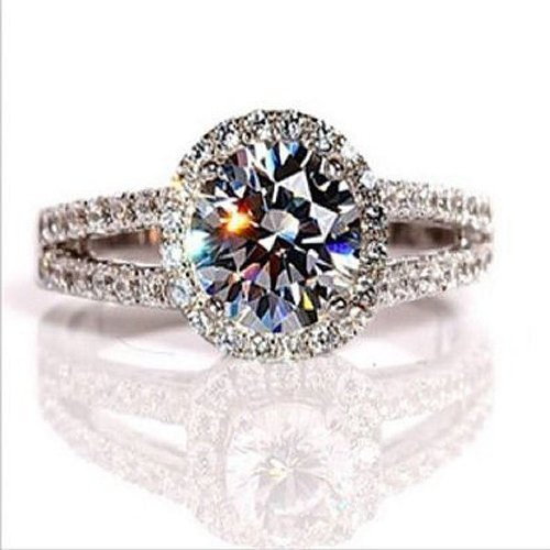 H&H 2.00 Carat Diamond Engagement Ring
