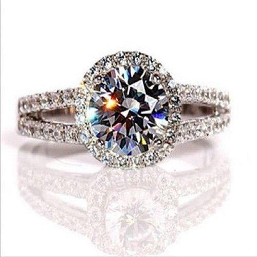 H&H 2.00 Carat Diamond Engagement Ring