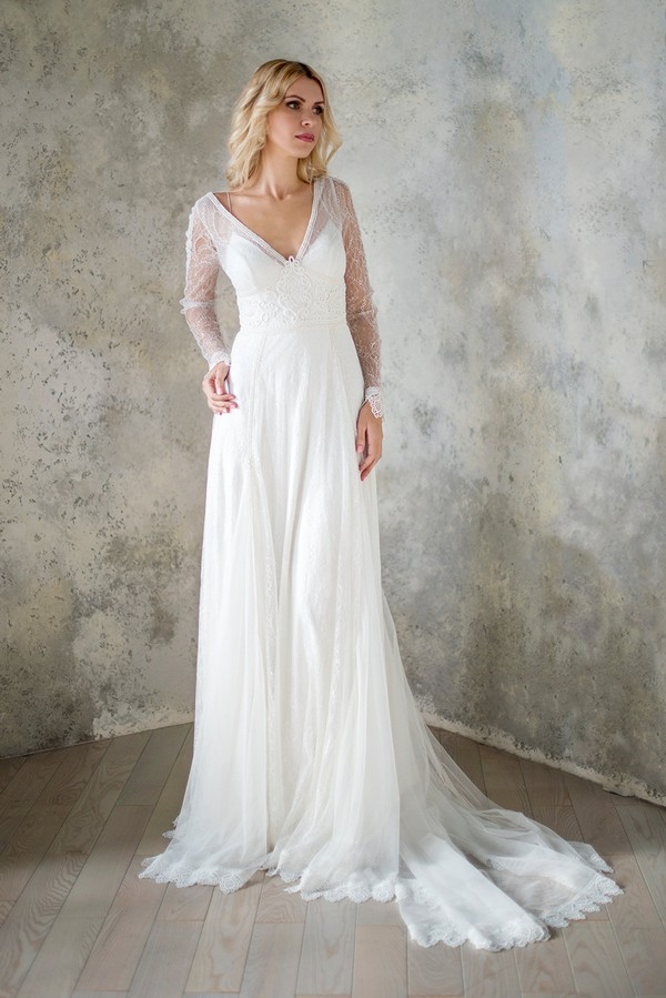 Hippie Boho Wedding Dresses