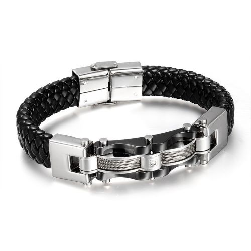 How To Make Leather Mens Bracelets