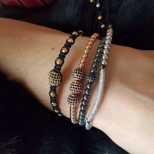 How to Wear Beaded Bracelets
