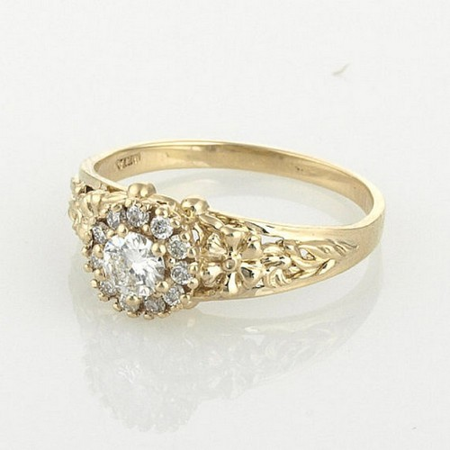 Inexpensive Vintage Engagement Ring