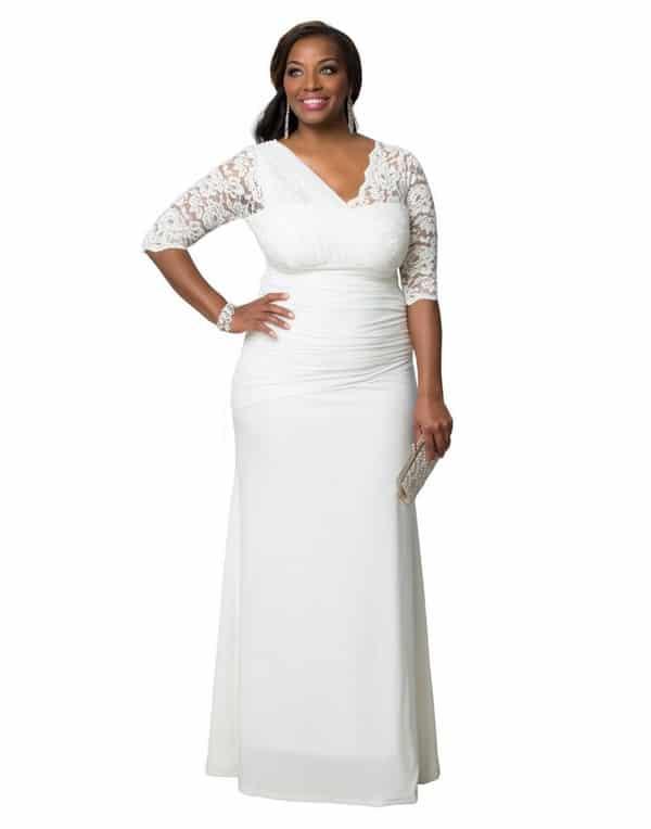 plus size wedding dresses 2018