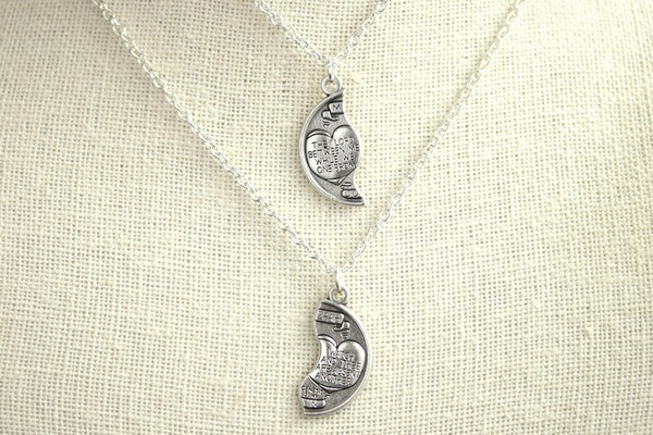 James Avery Couple Necklaces