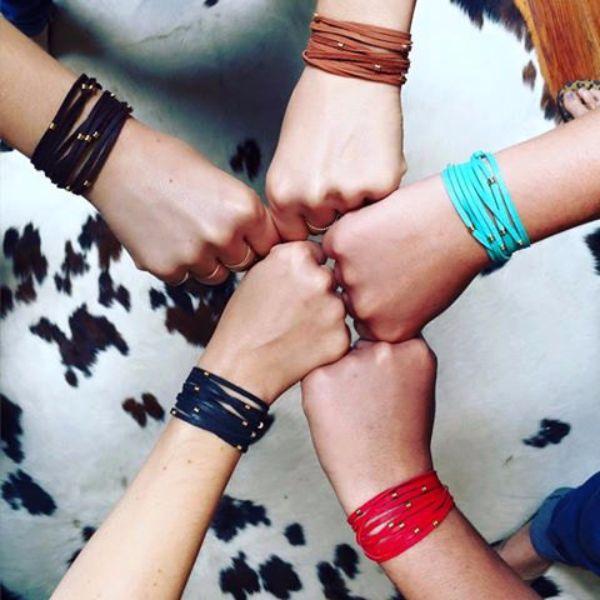 Leather Bracelet Jewelry fo Wanderlusters