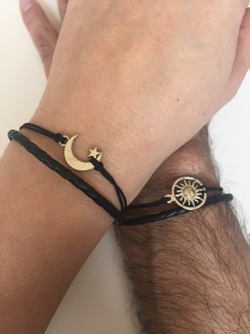Leather Bracelets For Couples
