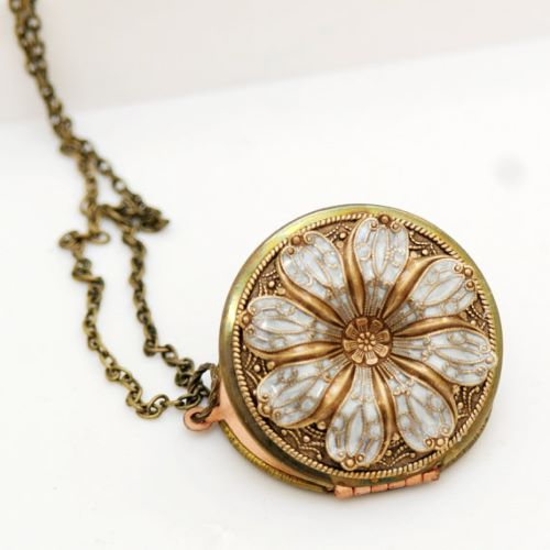 Locket Charm Necklace