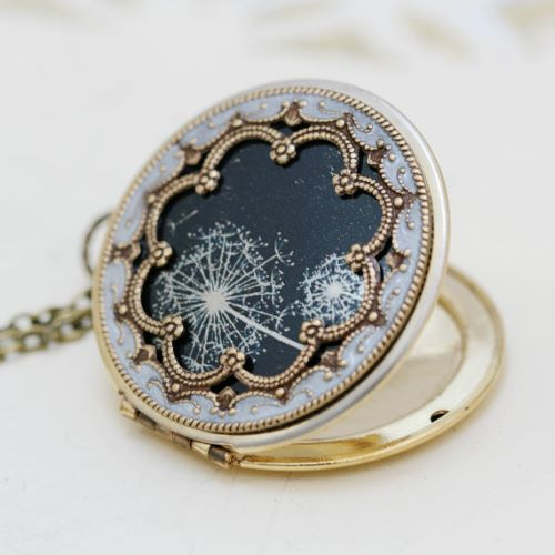Locket Necklace That Holds Picture