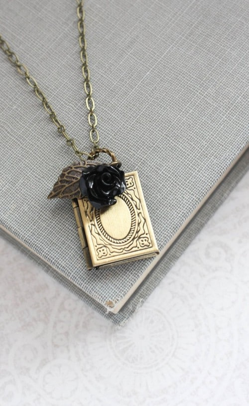 Locket Necklace With Charms