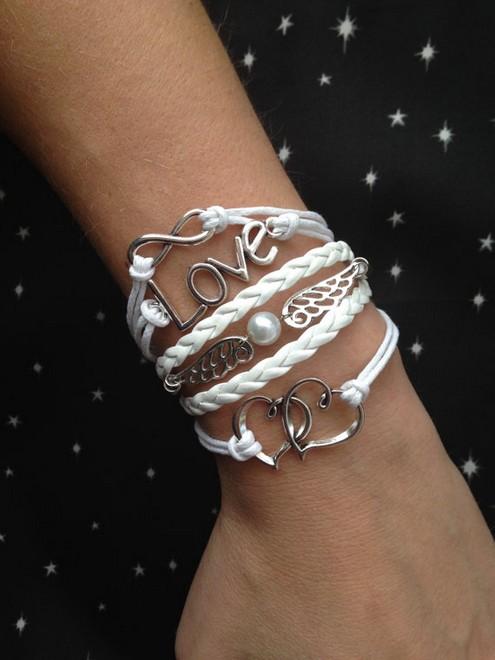 Love Friendship Bracelet Charm Bracelet