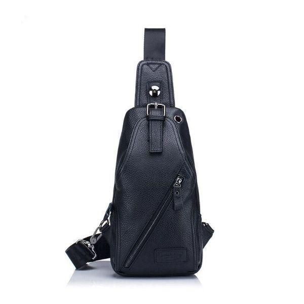 Man Bag Crossbody Leather