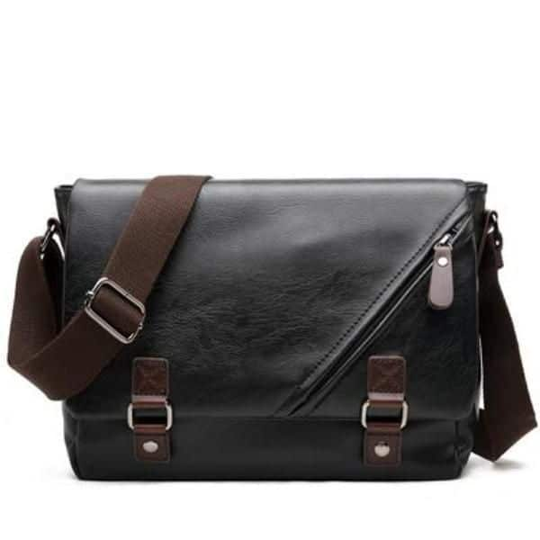 Man Shoulder Bag Leather