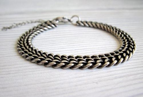 Mens Bracelets Sterling Silver