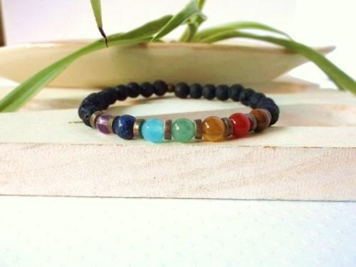 Mens Glass Bead Bracelets