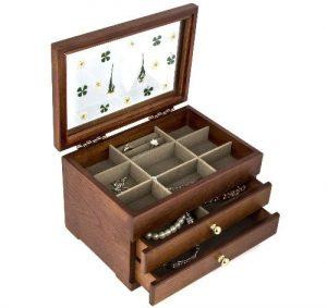 Mens Jewelry Box Wood
