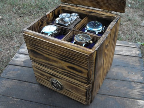 Mens Jewelry Valet Box