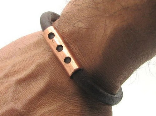 Mens Leather Bracelets Uk