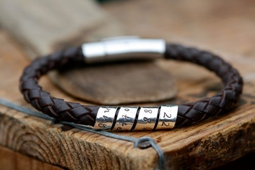 Mens Leather Rope Bracelets