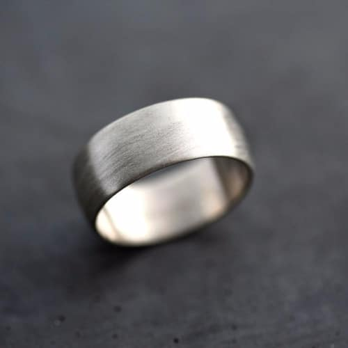 Mens Rings White Gold