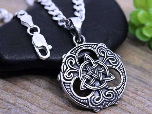 Mens Sterling Silver Necklace