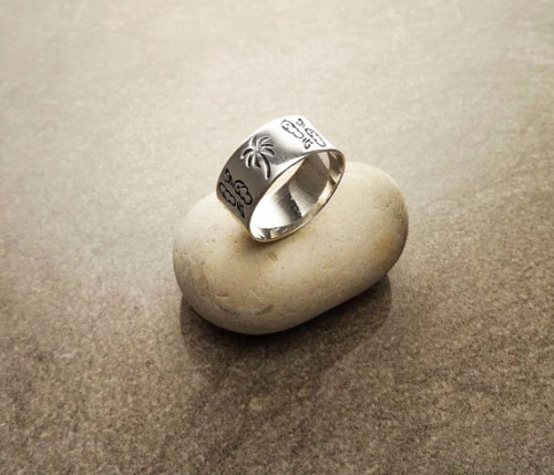 Mens Sterling Silver Thumb Rings