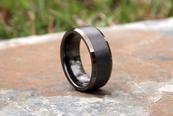 Mens Tungsten Carbide Rings