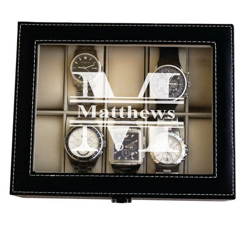 Mens Valet Jewelry Box