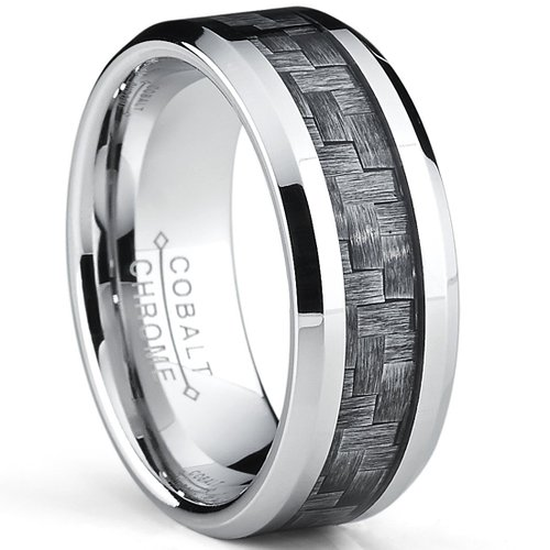 Metal Masters Co. High Polish Cobalt Men's Wedding Band