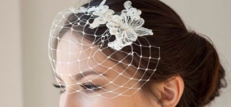 29 Pretty Birdcage Veils and How to Make One