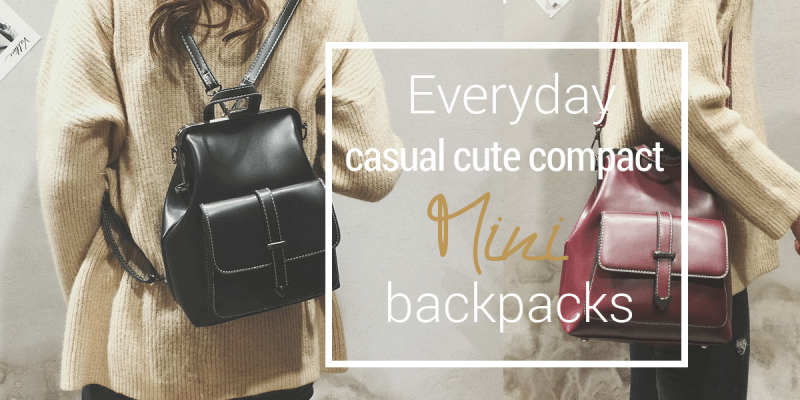 27 Cute Mini Backpacks for Women's Daily Essentials