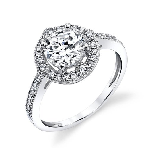 Minxwinx 3 Carat Center Classic Cheap Engagement Rings Under 100