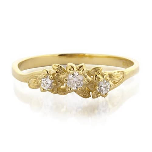 Modern Vintage Engagement Rings