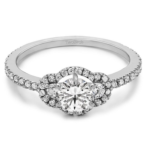 Moissanite Diamond Engagement Rings