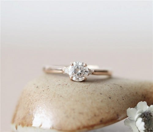 Moissanite Engagement Rings Chicago