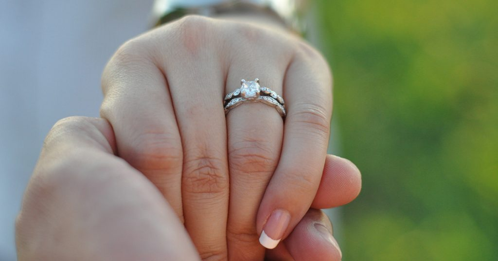 27 Strikingly Unique Moissanite Engagement Rings