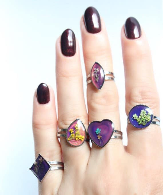 Mood Ring Colors Meaning