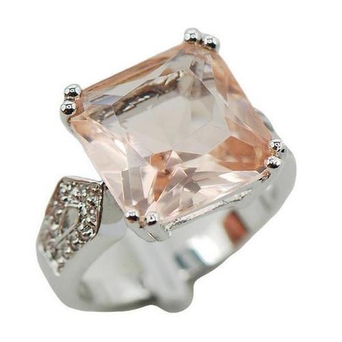 Morganite Engagement Ring Rose Gold